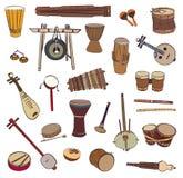 Strumenti di percussione tradizionali immagine stock for Oggetti tradizionali cinesi