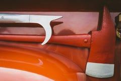 Strumento d'annata di estinzione di incendio Fotografie Stock Libere da Diritti