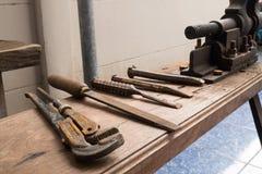 Strumento del carpentiere Immagine Stock Libera da Diritti