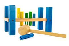 Strumento del giocattolo per il carpentiere Fotografia Stock Libera da Diritti