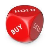 Strumento del mercato azionario Immagini Stock