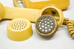Strumento del microtelefono del telefono fotografia stock libera da diritti