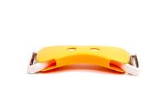 Strumento dell'affettatrice del coltello dell'acciaio inossidabile per tagliuzzare il formaggio dell'ortaggio da frutto immagine stock