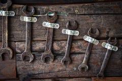 Strumento dell'artigiano della chiave Fotografie Stock Libere da Diritti