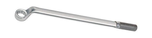 Strumento della chiave a bussola isolato su bianco immagine stock libera da diritti