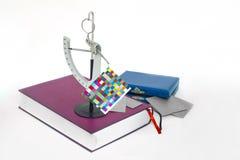 Strumento dello strumento del libre di misura del peso di carta offset. Immagini Stock