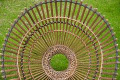 Strumento di bambù del mestiere per il pesce del fermo, stile della Tailandia Fotografie Stock