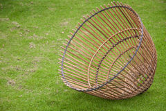 Strumento di bambù del mestiere per il pesce del fermo, stile della Tailandia Immagini Stock