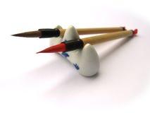 Strumento di calligrafia Fotografia Stock