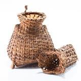 Strumento di cattura di bambù dei pesci Immagine Stock Libera da Diritti