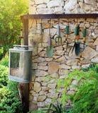 Strumento di giardinaggio di giardinaggio e di concezione Immagine Stock