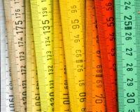 Strumento di misura di lunghezza Fotografia Stock