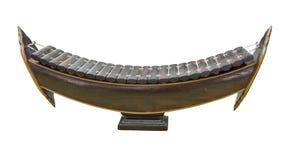 Strumento di musica classica di legno tailandese dello xilofono Fotografia Stock Libera da Diritti