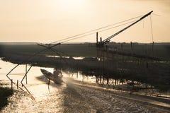 Strumento di pesca Fotografia Stock