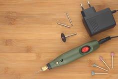 Strumento ed accessori rotatori Fotografie Stock Libere da Diritti