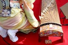 Strumento giapponese tradizionale Immagini Stock