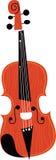Strumento musicale del violino Fotografia Stock