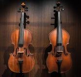 Strumento musicale invecchiato Fotografia Stock