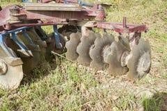 Strumento per agricoltura: erpice di disco Fotografia Stock Libera da Diritti