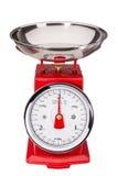 Strumento per la misurazione del peso di alimento Fotografie Stock Libere da Diritti