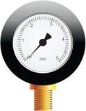 Strumento per pressione di misurazione illustrazione di stock