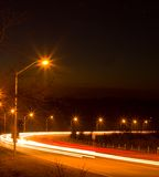 strumień światła Zdjęcia Royalty Free
