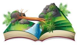 Strumień książka royalty ilustracja