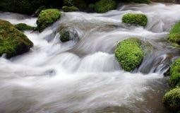 strumień płynie Zdjęcie Stock
