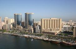 strumień Dubaju widok Obraz Stock