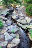 strumień ogród Fotografia Royalty Free