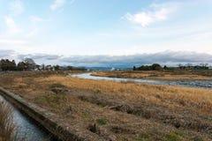 Strumień w Arashiyama Kyoto Japonia fotografia royalty free