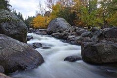 Strumienia Adirondack park fotografia royalty free