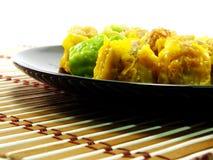 Strumienia dim sum dim sum chiński karmowy kulinarny pojęcie Zdjęcia Royalty Free