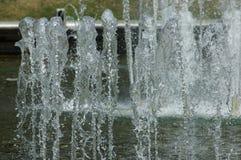 Strumienie woda w parku Obrazy Royalty Free