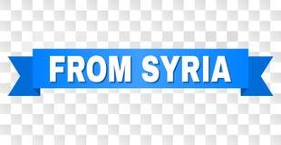 Strumpebandsorden med FRÅN den SYRIEN överskriften royaltyfri illustrationer