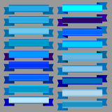Strumpebandsorden och blåttbaner vektor illustrationer