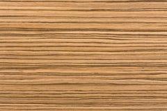 Struttura africana naturale di legno di zingana Fotografia Stock Libera da Diritti