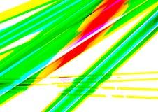 Struttura al neon di colore di Crystal Abstract con bello effetto digitale illustrazione vettoriale