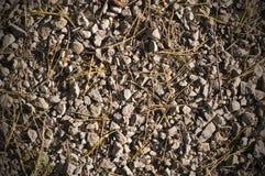 Struttura al suolo rocciosa Fondo Fotografia Stock