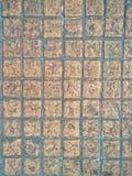 Struttura alta chiusa del sentiero per pedoni dei mattoni Immagine Stock Libera da Diritti
