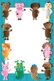 Struttura animale di bianco dello zodiaco royalty illustrazione gratis