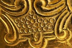 Struttura antica del metallo Fotografie Stock Libere da Diritti