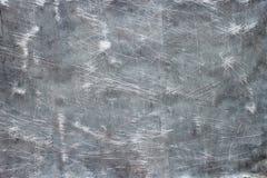 Struttura antica del metallo, piatto distorto dell'acciaio inossidabile Fotografia Stock