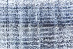 Struttura approssimativa d'argento della stagnola della grinza Fondo di struttura della stagnola d'argento Struttura d'argento Fotografie Stock