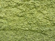 Struttura approssimativa della parete verde immagini stock libere da diritti