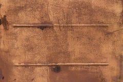 Struttura arancio del graffio del metallo Fotografie Stock