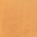 Struttura arancio del tessuto del tessuto Fotografie Stock