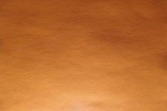 Struttura arancio intensa reale della carta di colore Immagine Stock Libera da Diritti