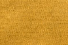 Struttura arancio luminosa di tessuto o della materia tessile Fotografia Stock