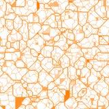 Struttura arancione astratta Immagini Stock